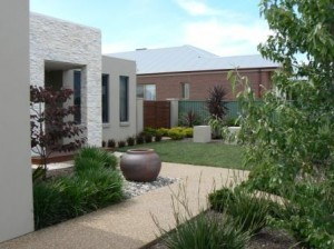 Garden Design - Modern Style House - Contemporary Garden Design