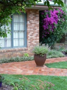 Existing House and Garden Design