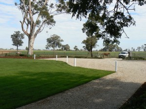 Carparking and driveways